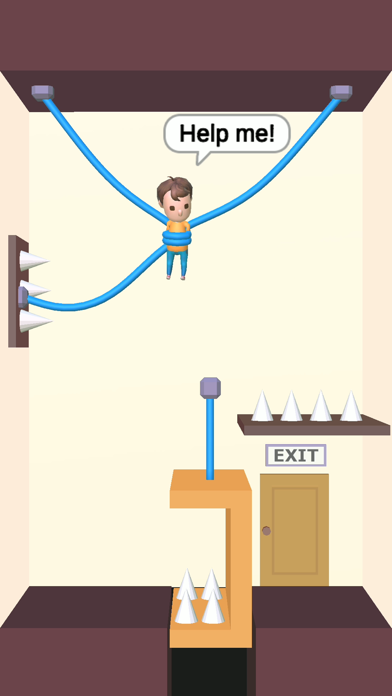 Rescue Cut - Rope Puzzle app image
