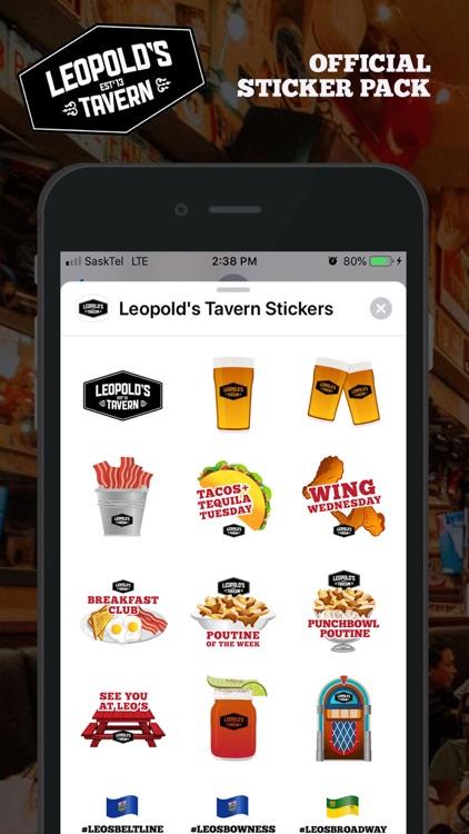 Leopold's Tavern Stickers