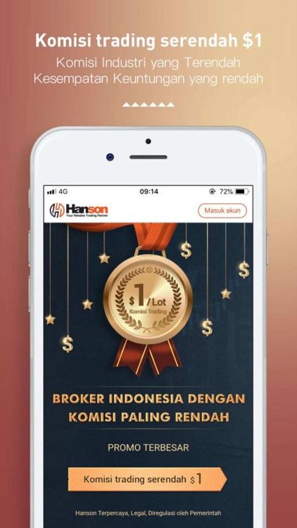 Hanson forex trader penipu