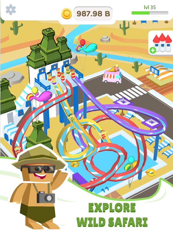 Idle Waterpark 3D Fun Aquapark screenshot 4