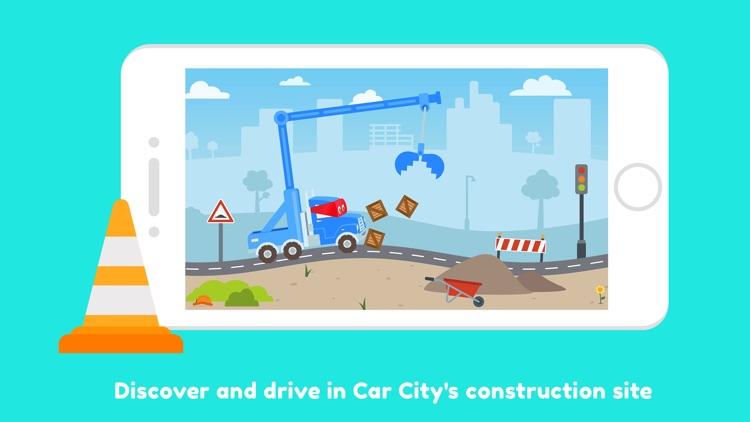 Carl the Super Truck Roadworks screenshot-0