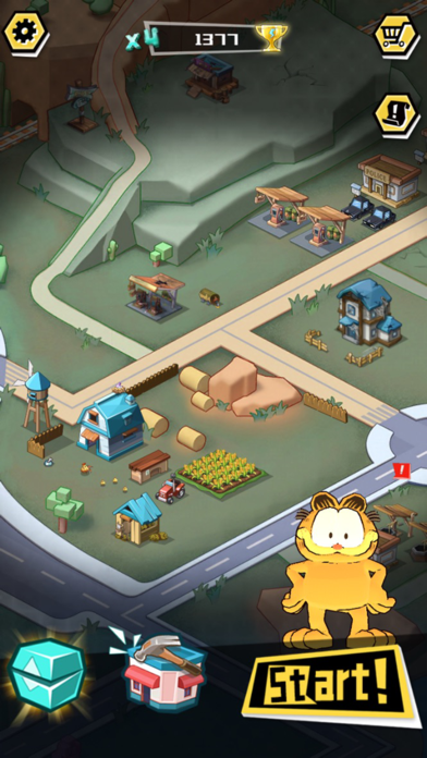 Garfield Run: Road Tour screenshot 5