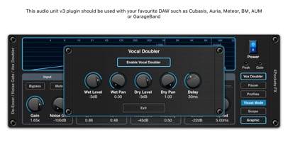 De-Esser AUv3 Audio Plugin