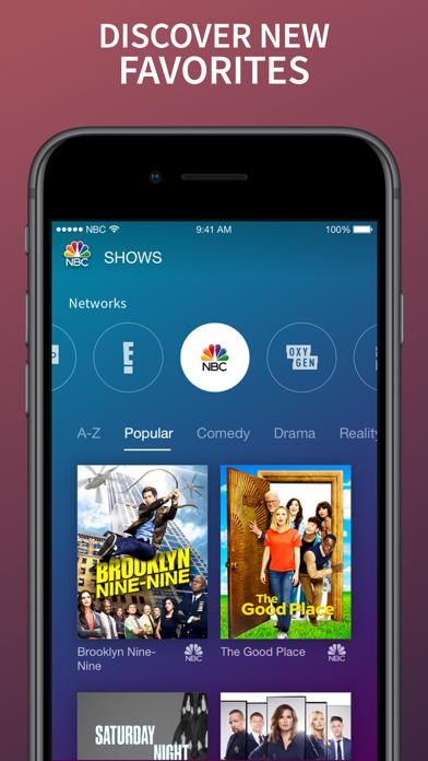 The Nbc App Stream Tv Shows App Reviews - User Reviews of