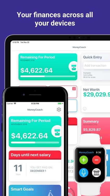 MoneyCoach - Save Money Easily screenshot-7