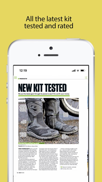 RiDE: The Motorcycle Magazine screenshot-4
