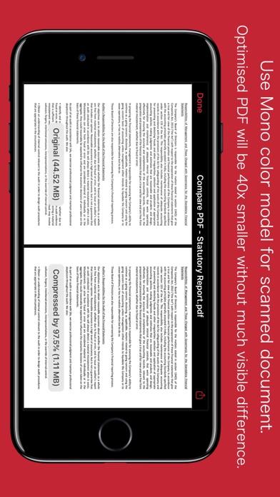 PDFOptim screenshot four