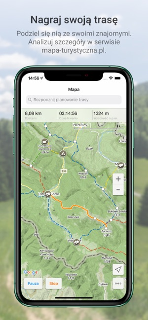 Aplikacja Mapa Turystyczna W App Store