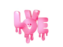 Love story animated sticker
