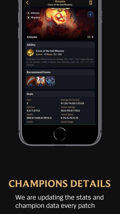 Summoner TFT - Guide & Helper screenshot-7
