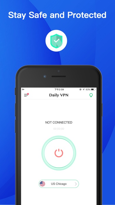 Daily VPN - Super VPN Proxy screenshot one