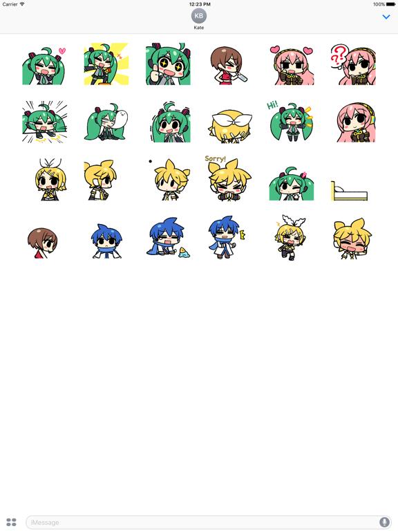 Animated Miku And Gang Sticker screenshot 5