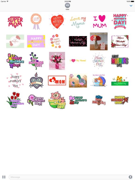 I Love Mom Animated Sticker screenshot 5