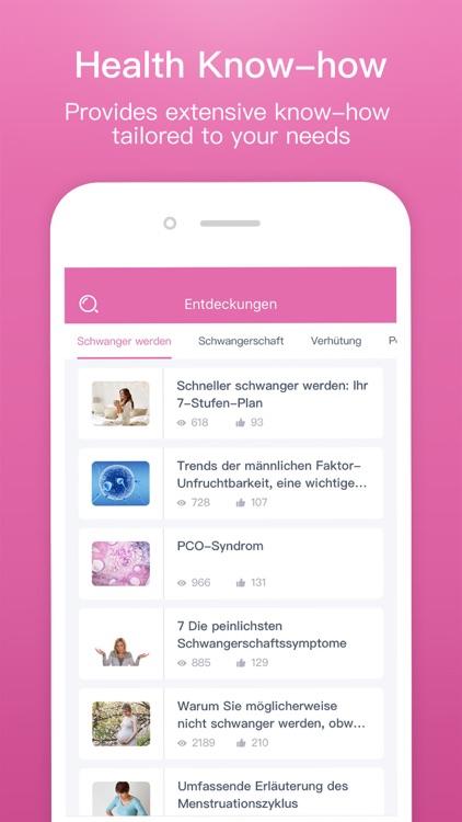 Femometer Fertility Tracker screenshot-4