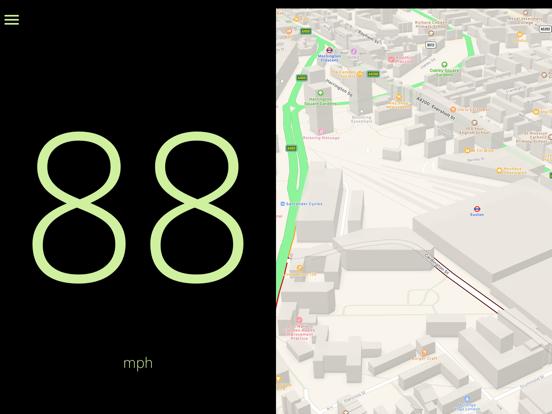 Speedometa - GPS Speedometer and Speed Camera Locations for AppRadio screenshot