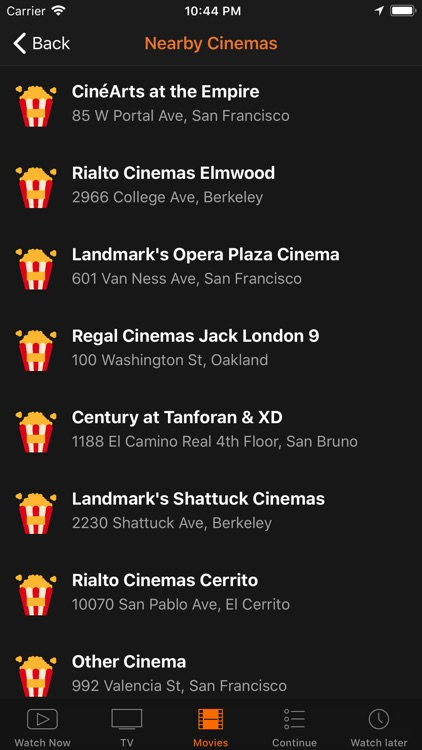 Showbox & MovieBox trailer hub screenshot-3