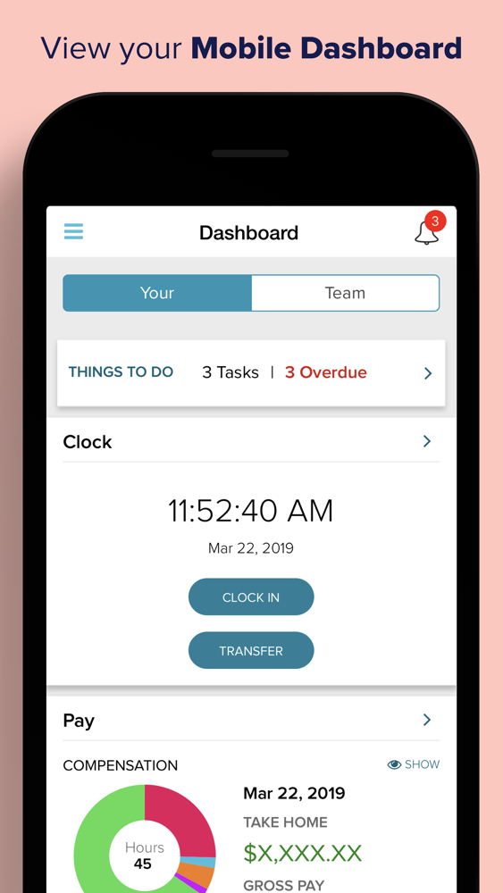 ADP Mobile Solutions App for iPhone - Free Download ADP Mobile