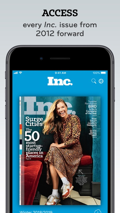 Screenshot for Inc. Must Reads and Magazine in United Arab Emirates App Store