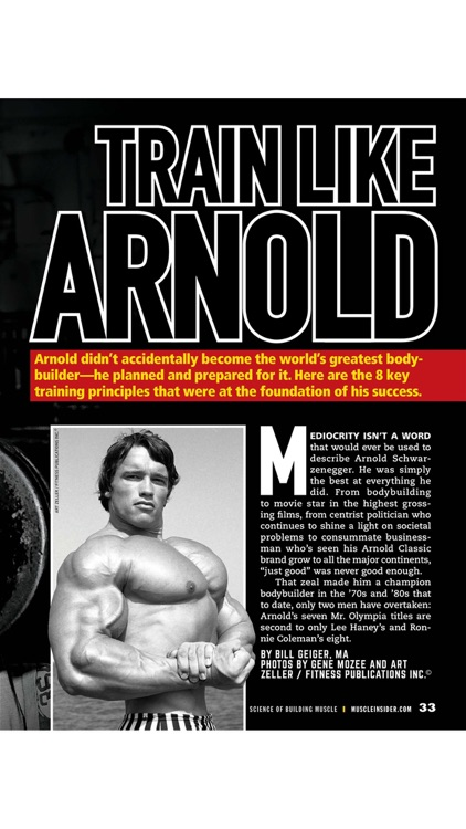 Muscle Insider Digital Magazine screenshot-3