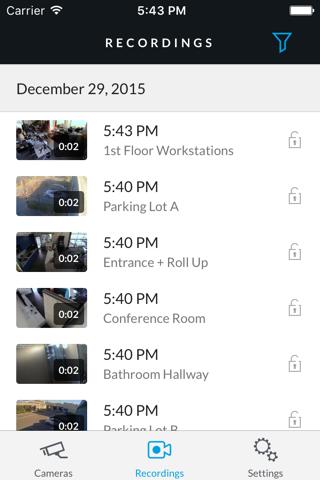 UniFi Video - náhled