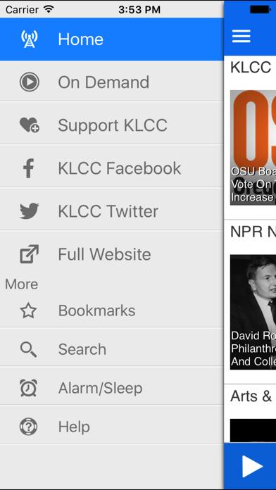 KLCC Public Radio App screenshot three