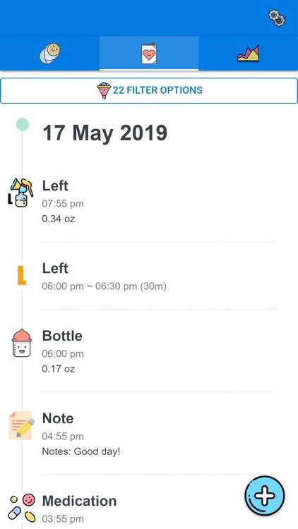 Baby Feeding Tracker and Log screenshot-3