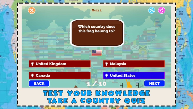 World Countries Geography Quiz