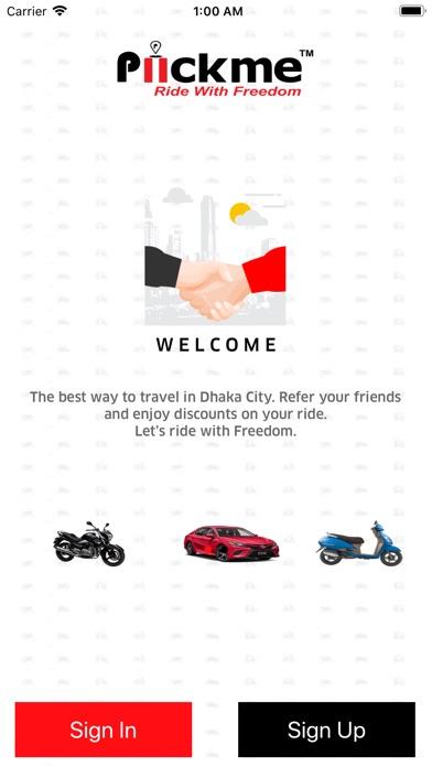 Piickme - Ride With Freedom app image