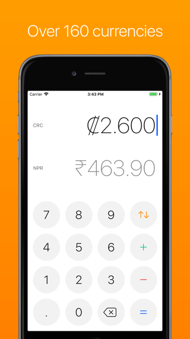 Currency – Simple Converter Screenshots