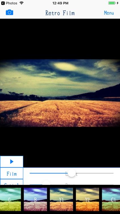 Retro Film - 8mm Video Maker screenshot-4