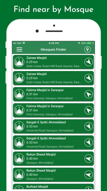 Muslim Prayer Times & Qibla screenshot-8