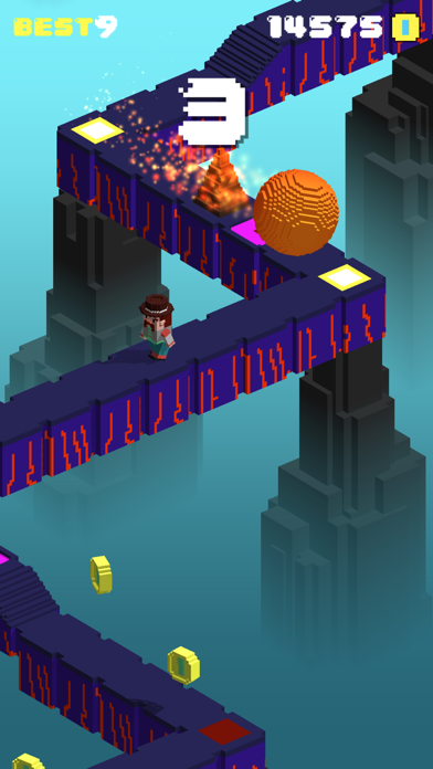 Flippy Run: Epic Fun Ball Raceのおすすめ画像4