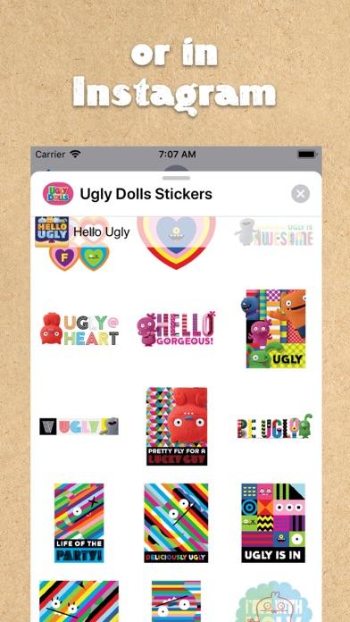 UglyDolls Stickersのおすすめ画像6