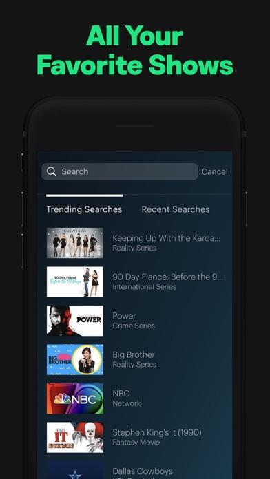 Screenshot of Hulu: Watch TV Shows & Movies App