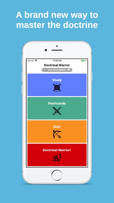 Doctrinal Warrior: LDS Tools screenshot one