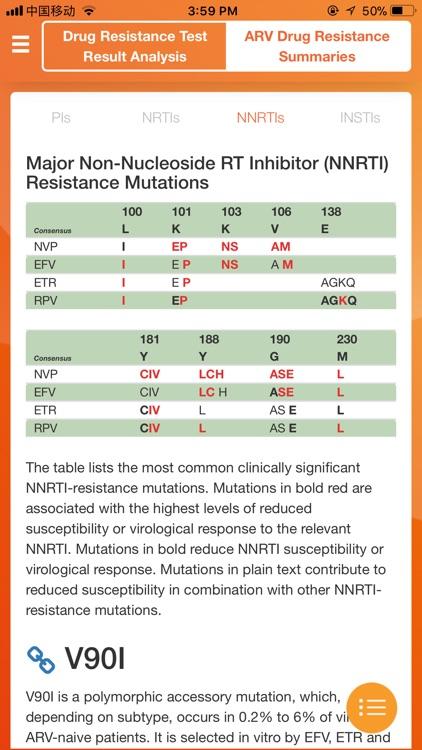 HIV Drug Resistance tool