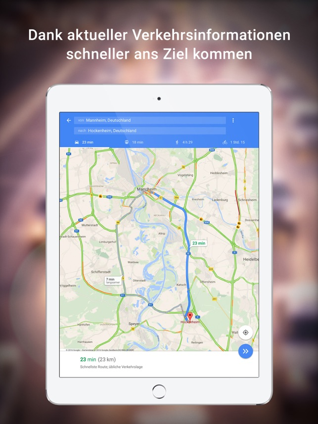 ‎Google Maps - Transit & Essen Screenshot