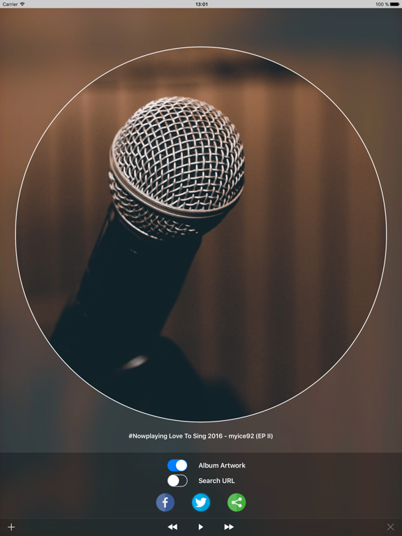 Screenshot #6 pour #Nowplaying - Tweet Your Music