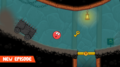 Screenshot from Red Ball 4