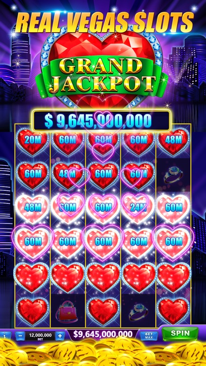 Slots-Heart of Diamonds Casino