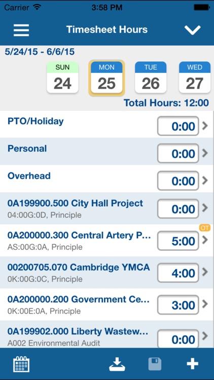 Deltek Vision Time & Expense screenshot-4