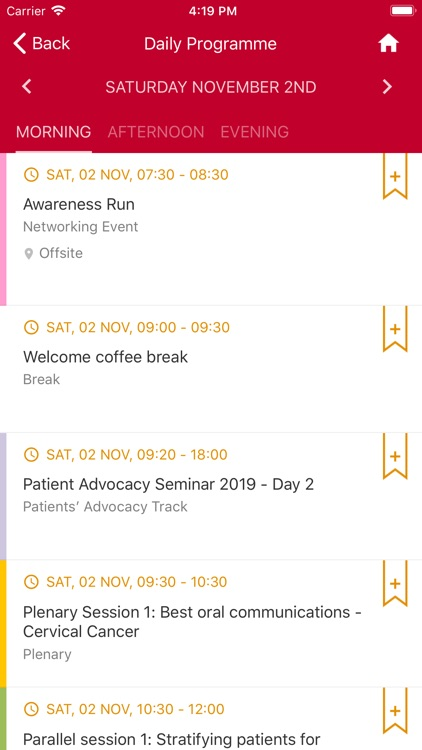 ESGO Gynae Oncology Events screenshot-4
