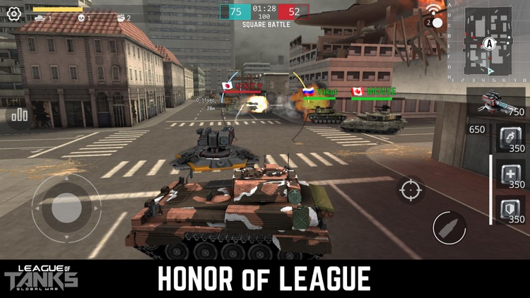 League of Tanks screenshot-0