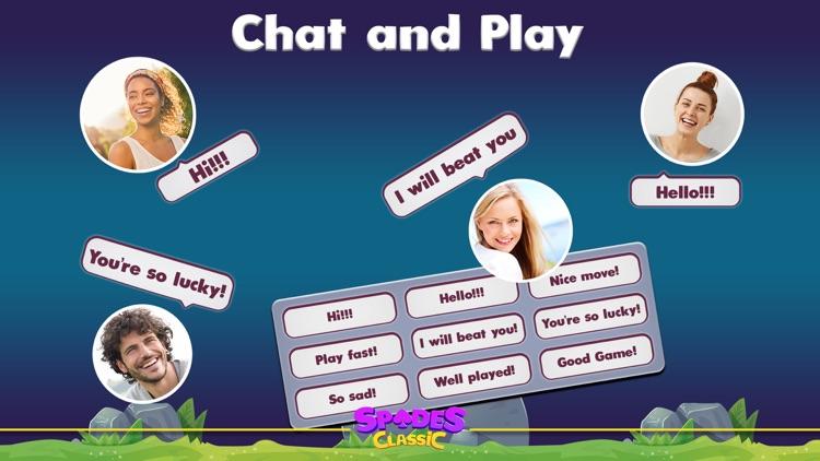 Spades Classic Online screenshot-7