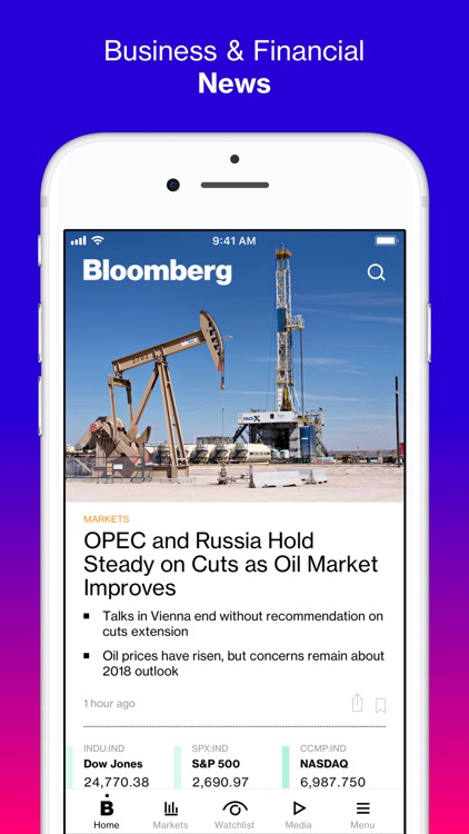 Bloomberg: Business News