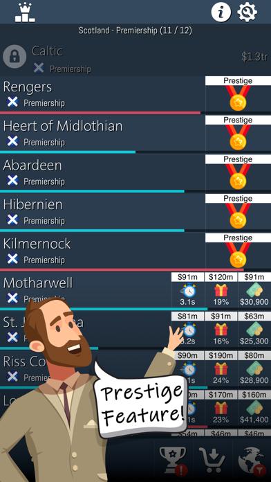 Idle Football Tycoon screenshot 4