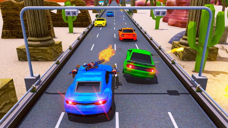 Car Shooting Game:Battle Crash screenshot-3