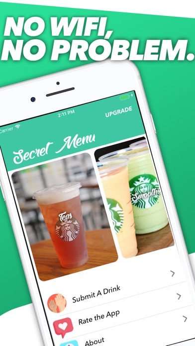 Secret Menu for Starbucks VIP Screenshot