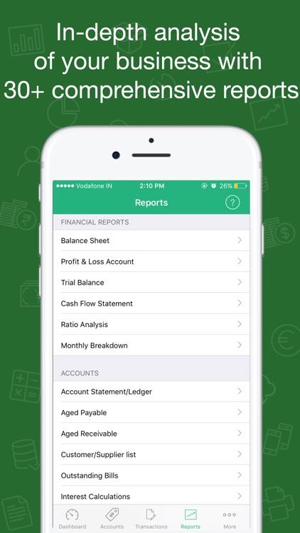 Book Keeper Accounting screenshot-4