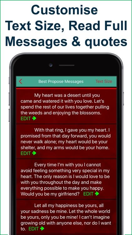 Best Love SMS & Quote 4 Lovers screenshot-3
